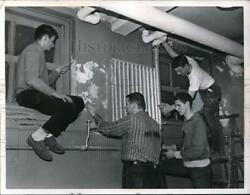 1962 Press Photo Future Engineers At Case Techedward Goebel,dave Ladd Doug Wise