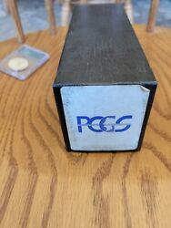 Pcgs Vintage Black Rattler Storage Box Several Available - Please See Condition