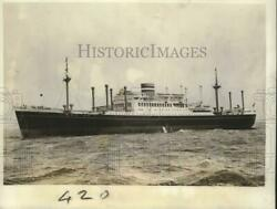 1946 Press Photo Holland American Motor Liner Westerdam During Technical Tests