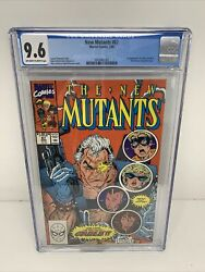 New Mutants 87 Cgc 9.6 1st Appearance Of Cable And Stryfe