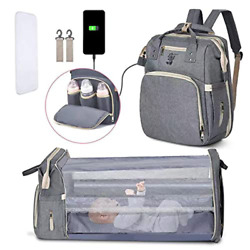 Diaper Bag Backpack Baby Bagswith changing station for BoysGirls Multifuncti $76.65