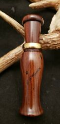 R.p. Mueller Duck Call Made For Howard Harlan Of Nashville Tn Note To Harlan 12