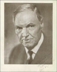 Clarence Darrow - Autographed Inscribed Photograph 02/02/1936
