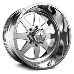 American Force 11 Independence Ss Wheel 20x12 -40 5x127 Polished Single Rim