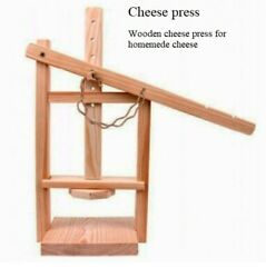 Cheese Press 100 Natural Product Wooden Cheese Press For Homemede Cheese