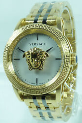 Versace Menand039s Watch Verd00418 Swiss Made Wristwatch New With Certificate