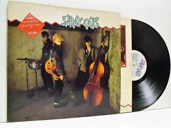 Stray Cats Stray Cats Self Titled Lp Ex/ex- Stray 1 Vinyl And Merchandise Sheet