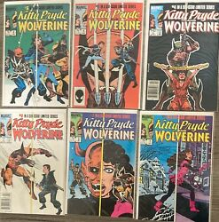 Kitty Pryde And Wolverine 1-6 Complete Full Run 1 2 3 4 5 6 Marvel