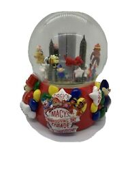 2001 Thanksgiving Day Parade Snow Globe 75th Anniversary With Twin Towers