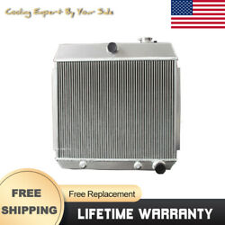 Car Accessories For Chevy Bel Air/nomad/150/210 4.3 4.6 V8 55-57 Radiator 3row