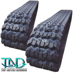 Zig Zag Rubber Tracks Set Of Two For Bobcat T730 450x86x55 17.7