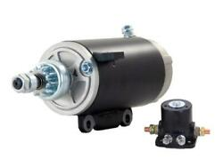 Starter Motor And Solenoid Fits 69-80 Evinrude Marine Outboard 100 100hp 18-5625