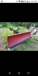 Western 9 Ft Ultra Mount Snow Plow Pro Plus 3 Wire Ford Chevy Dodge Dually