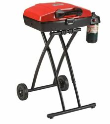 Portable Propane Gas Bbq Grill Small Foldable Steel Barbeque Camping Barbecue