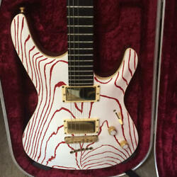 Mayones Setius Gothic 6 Monolith 6 String Hard Case With Key Red And White