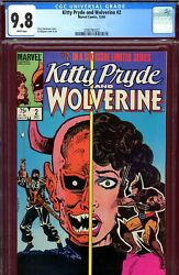 Kitty Pryde And Wolverine 2 Cgc Graded 9.8 - First Ogun In Mask - Milgrom C/a