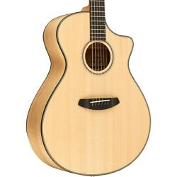 Breedlove Oregon Concerto With Spruce Top Acoustic-electric Guitar Natural