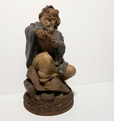 Tom Clark Moses Retired Religious Sculpture Statue 1989 Cairn 6001 Edition 37
