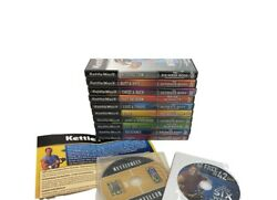 Kettleworx Dvd Lot Set X10 Workouts Kettle Bell Worx Complete Fitness Extras