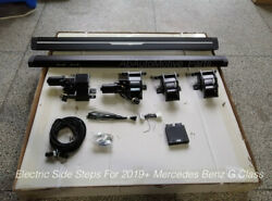 2019-2022 Mercedes Benz G Class Deployable Electric Side Step Running Board G550