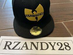 Wu-tang New Era Fitted Hat 7 1/2 Brand New Never Worn