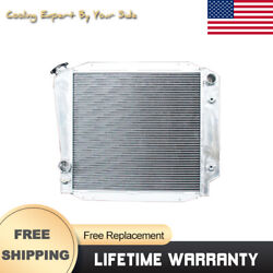 Car Accessories For Ford Bronco V8 Engine Conversion 1966-1977 Radiator 3row
