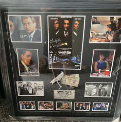 Goodfellas Cast Signed Collage With A Coa From Top Rated Seller. World Class
