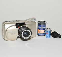 Olympus Infinity Stylys Zoom 115 35mm Af Pands Camera Bundle - Fully Film Tested
