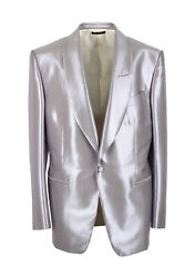 New Tom Ford Windsor Gray Shawl Tuxedo Dinner Jacket Size 52 / 42r U.s. Fit A...