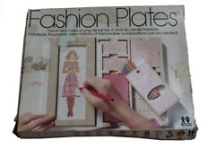 Vintage 1978 Fashion Plates By Tomy Drawing Design Kit Totally Full Of Designs