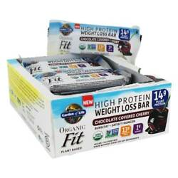 Garden Of Life - Organic Fit High Protein Weight Loss Bars Chocolate Covered