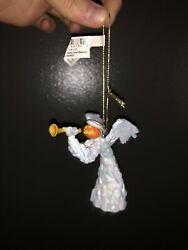 Haunted Mansion Holiday Nightmare Before Christmas Pumpkin Angel Ghost Ornament