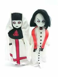 Living Dead Dolls Sinister Minister And Bad Habit Figure With Box Good Condition