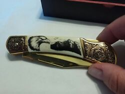 Falkner Knife - Bald Eagle - American Wildlife Collection By American Mint