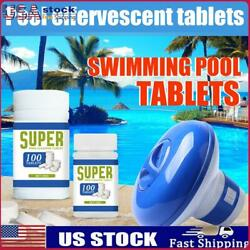 50 500 Chlorine Tablets Multifunction Instant Cleaning For Swimming Pool Tub US