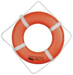 Cal-june 24 Orange Ring Buoy With Straps Go-24