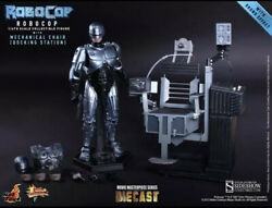 Hot Toys Mms203 Robocop - 16th Robocop Mechanical Chair Docking Station