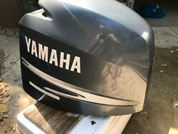 Yamaha F150 63p-42610-01 Outboard 4 Stroke Engine Cowling Hood Cover Cowl