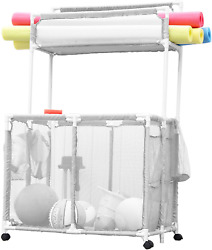 Essentially Yours Pool Noodles Holder, Toys, Floats, Balls And Floats Equipment