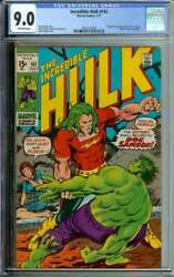 Incredible Hulk 141 Cgc 9.0 Ow Pages // 1st Appearance Doc Samson 1971