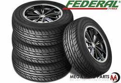 4 Federal Couragia Xuv Lt265/70r17 121/118s 10ply All Season Suv Touring Tires