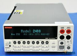 Keithley 2400 Sourcemeter Smu Source Meter 200v 1a 20w - Nist Calibrated