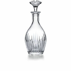 Magnificent Baccarat Crystal Massena Whiskey Decanter Signed, 30 Ounces 11