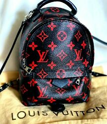 Louis Vuitton Infrarouge Palm Springs Mini Backpack Value 3333