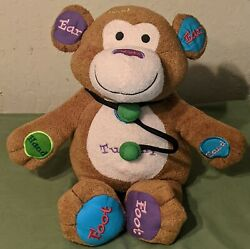 Vintage Doctor Dr Charlie Monkey By Cuddle Barn Works With Attached Stethoscope