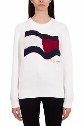 - Womenand039s Relaxed Knit Flag Sweater
