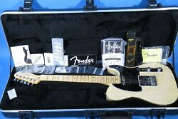 Fender's 60th Anniversary 2011telecaster Ltd Blonde Solid Body Electric Guitar