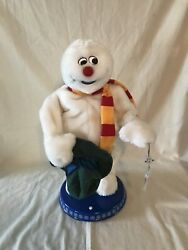Gemmy Animated Frosty The Snowman Dancing No A/c Adapter Tested And Working