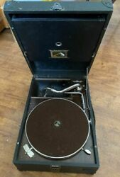 Gramophone His Masterand039s Voice Vintage 1930s Collectible Gramophone Record Player