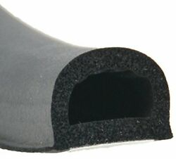 Ap Products 018-318 Black 3/4 X 1/2 Rubber D-seal With Tape
